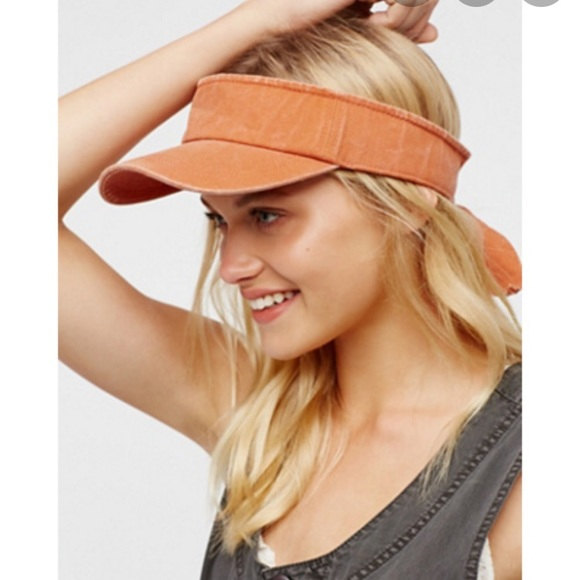 Free people visor hat cap